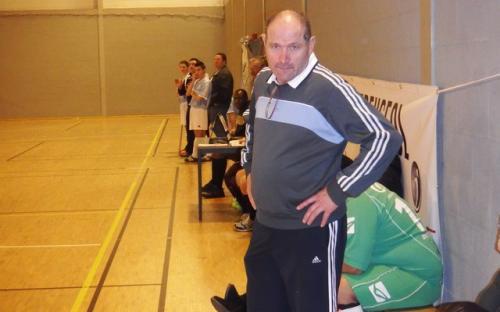Le coach un peu dépité !!!