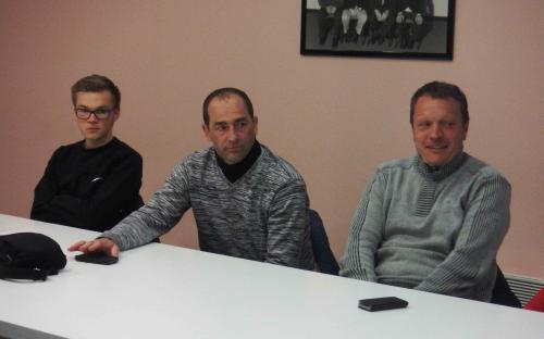 Sulyvan, Franck et Laurent