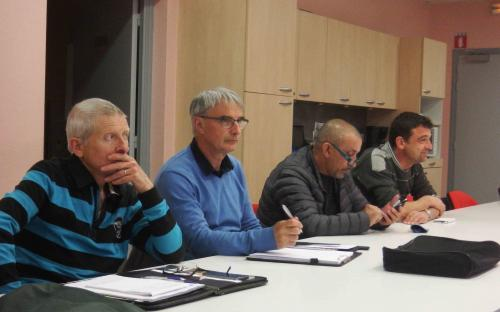 Jean-Paul, Gilles, Nordine et Jérôme