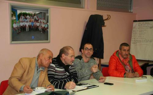 Habib, Jean-Louis, Franck et Nordisse