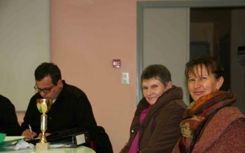Sous l'oeil vigilant de Chantal et Danièle